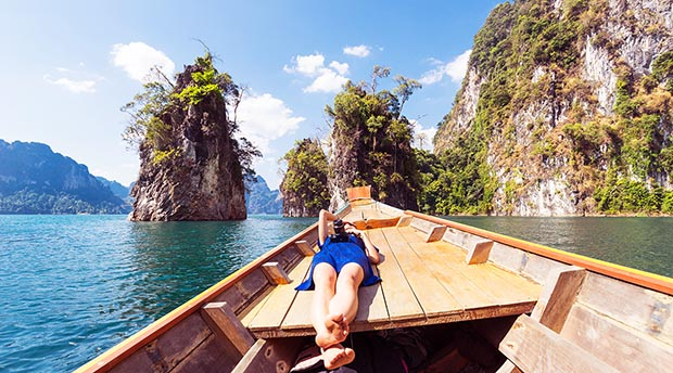 thailand boat girl